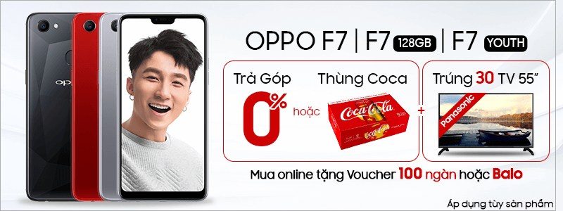 Oppo - Trả góp 0%